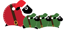 """Hopefully more """"Fleece Navidad"""" than """"Baa Humbug""""...."""